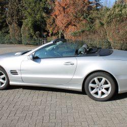 Mercedes sl 500  cabrio 8 cilinder 2001